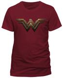 Batman V. Superman - Wonder Woman Logo T-shirts