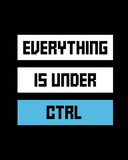 Everything Under Control Print by  Color Me Happy