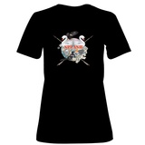 Womens: Splash Culture T-Shirt (Black) T-shirts