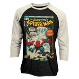 Raglan: Spider-Man - Comic Cover Raglans