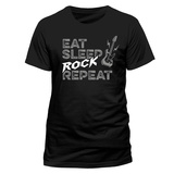 Eat Sleep Rock Repeat T-Shirts