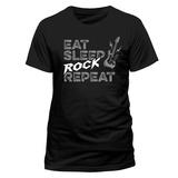 Eat Sleep Rock Repeat T-paidat
