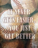 Just Get Better Posters by  Sports Mania