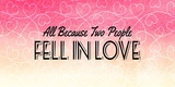 All Because Two People Pink Ombre Posters by  Color Me Happy