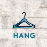 Laundry Sign White Wood Background - Hang Art by  Color Me Happy