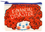 Financial Disaster Coin Purse Porta-moedas