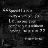Spread Love Stampe di  Quote Master