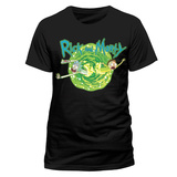 Rick and Morty - Black Portal T-Shirts