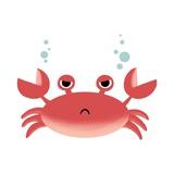 Sea Creatures - Crab Prints by  Color Me Happy