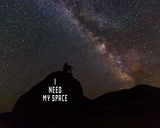 I Need My Space - Color Prints by  Color Me Happy