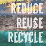 Reduce Reuse Recycle Print by  Color Me Happy