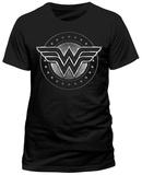 Wonder Woman Movie - Chrome Logo T-shirts