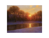 Morning on the Missouri Print by Brent Cotton