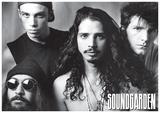 Soundgarden - B/W Group w/ Chris Cornel Poster