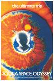 Rumrejsen år 2001, på engelsk Poster