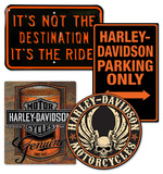 Home Sweet Harley Tin Sign Set Value Set