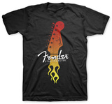 Fender - Strat Flaming Head Bluse
