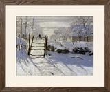 The Magpie, c.1869 Prints by Claude Monet