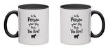 Do It For Your Dog Gold Mug Mug