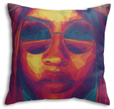 Filtered Visions Throw Pillow Throw Pillow