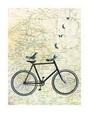 Bike Country Poster by Marion Mcconaghie
