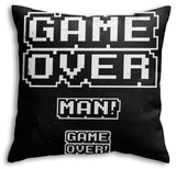 Game Over Man! Throw Pillow Throw Pillow