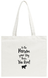 Do It For Your Dog Gold Tote Bag Tote Bag