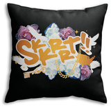 Skkrrt!! Throw Pillow Throw Pillow
