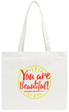 In Case You Forgot (Black Background) Tote Bag Tote Bag