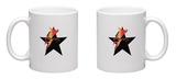 Black Star Rebel Open Eyes Mug Mug