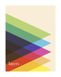 Layers Poster by Simon C. Page