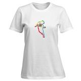 Womens: Go-Go Dancing Silhouette T-Shirt T-shirts