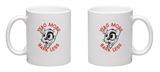 Wag More & Bark Less Mug Mug