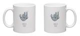 Hang in There- Vertical Sloth Mug Mug