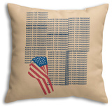Kanye For Prez 2016 (Beige) Throw Pillow Throw Pillow