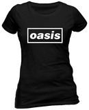 Juniors: Oasis - Logo T-Shirts
