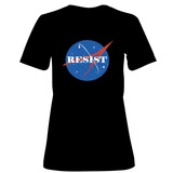 Womens: Space Science Resist Insignia T-Shirt T-shirts
