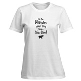 Womens: Do It For Your Dog Gold T-Shirt T-shirts
