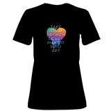 Womens: Broken Heart Make Art T-Shirt T-Shirt