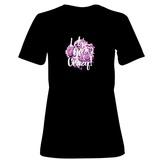 Womens: Let's Go Crazy Flower Bouquet T-Shirt T-shirts