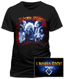 Twisted Sister - I Wanna Rock (Front/Back) T-Shirts