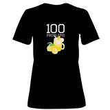 Womens: 100 Lemonade Problems (Blue) T-Shirt Shirts