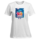 Womens: Glitzy Pop T-Shirt Shirts