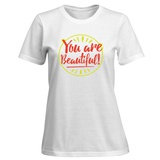 Womens: In Case You Forgot (Black Background) T-Shirt Shirts