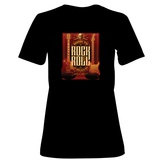 Womens: Born to Rock and Roll T-Shirt Shirts