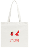 Let's Dance Red Shoes Tote Bag Tote Bag