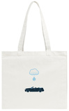 Rag Top Water Drop Tote Bag Tote Bag