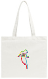 Go-Go Dancing Silhouette Tote Bag Tote Bag