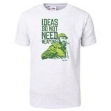 Ideas Not Weapons - Verde T-Shirt T-Shirt