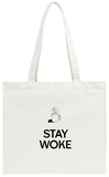 Stay Woke Tote Bag Tote Bag